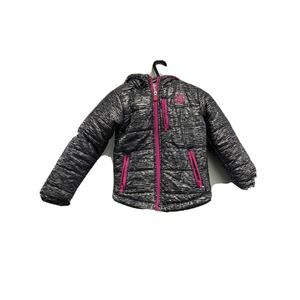 Girls Body Glove Hot Pink/Gray Puffer 6